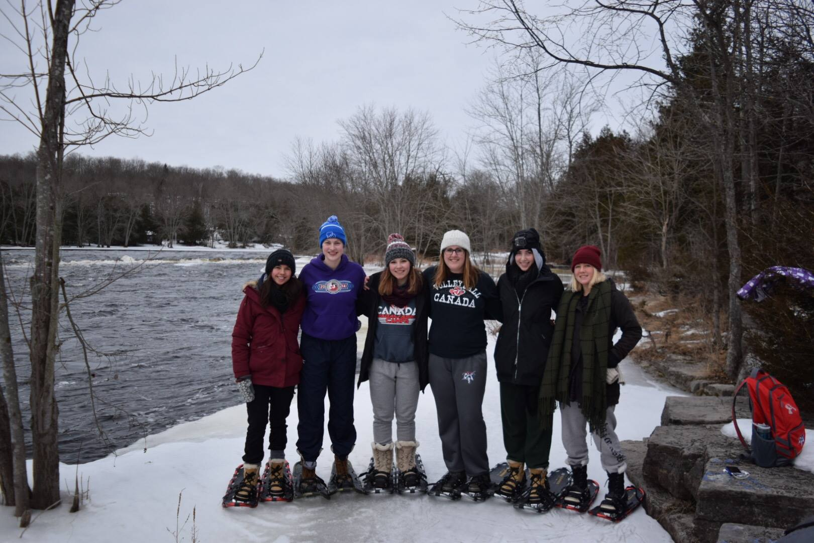 cruising canoes snowshoe