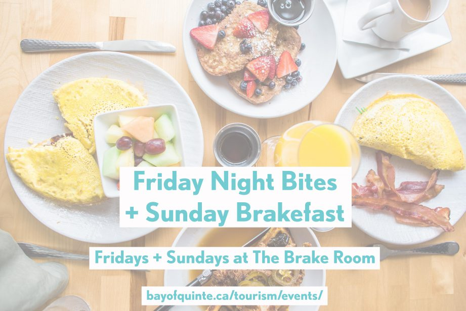 friday night bites brake room