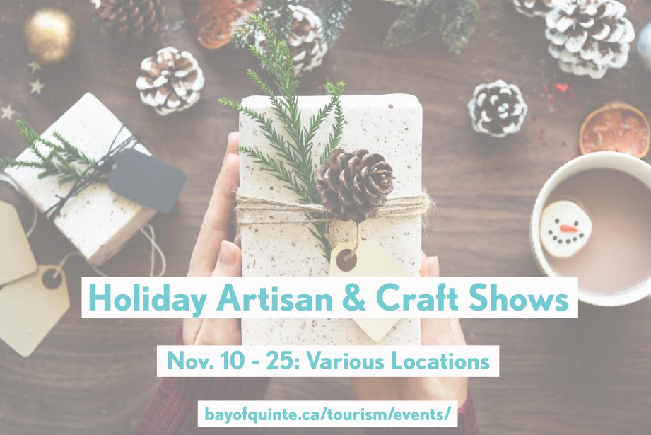 holiday craft shows belleville and quinte west