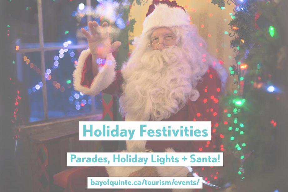 holiday events belleville quinte west
