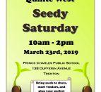 Quinte West Seedy Saturday