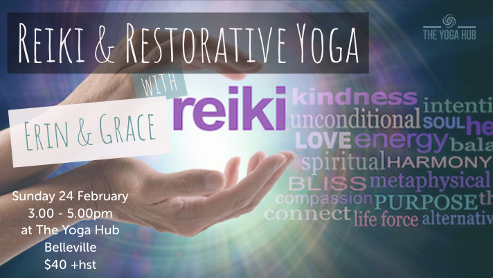 Reiki Restorative Yoga Belleville