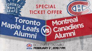 Toronto vs Montreal Alumni Game