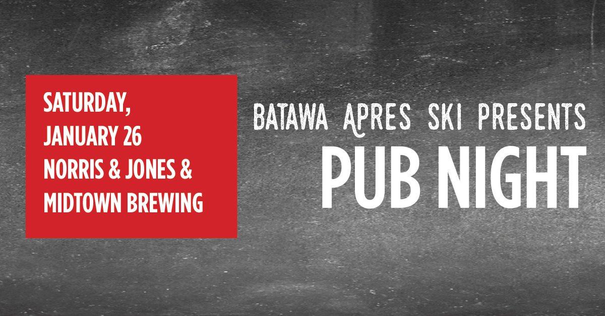 batawa apres ski pub night