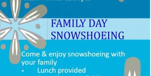 family day snowshoeing mohawks bay of quinte