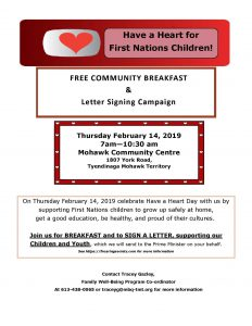have a heart community breakfast