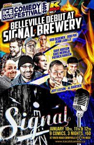 ice cold comedy fest signal brewing co