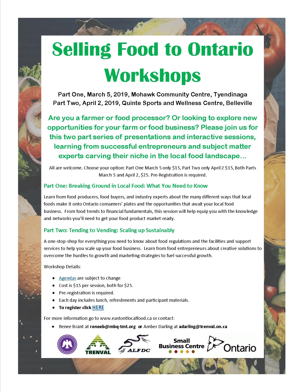 local food workshop