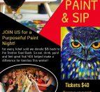 purposeful painting fundraiser
