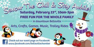 savour the chill and stay awhile belleville