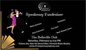Quinte Symphony Speakeasy Fundraiser
