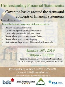 Trenval Financial Literacy Workshop