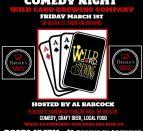 wild card comedy night