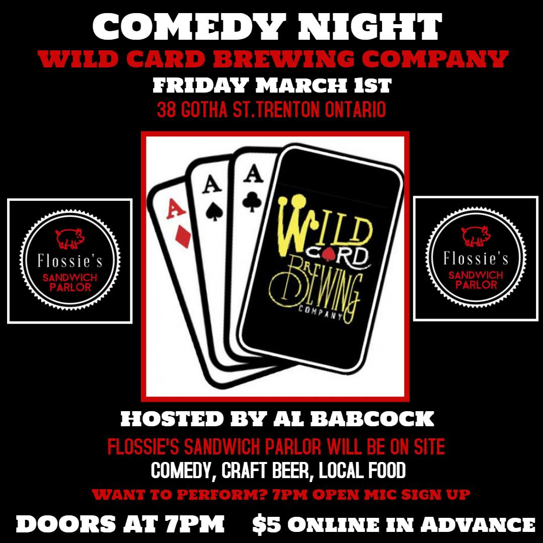 wild card comedy night