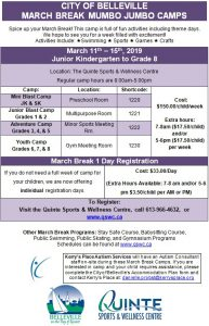 Belleville March Break Camps