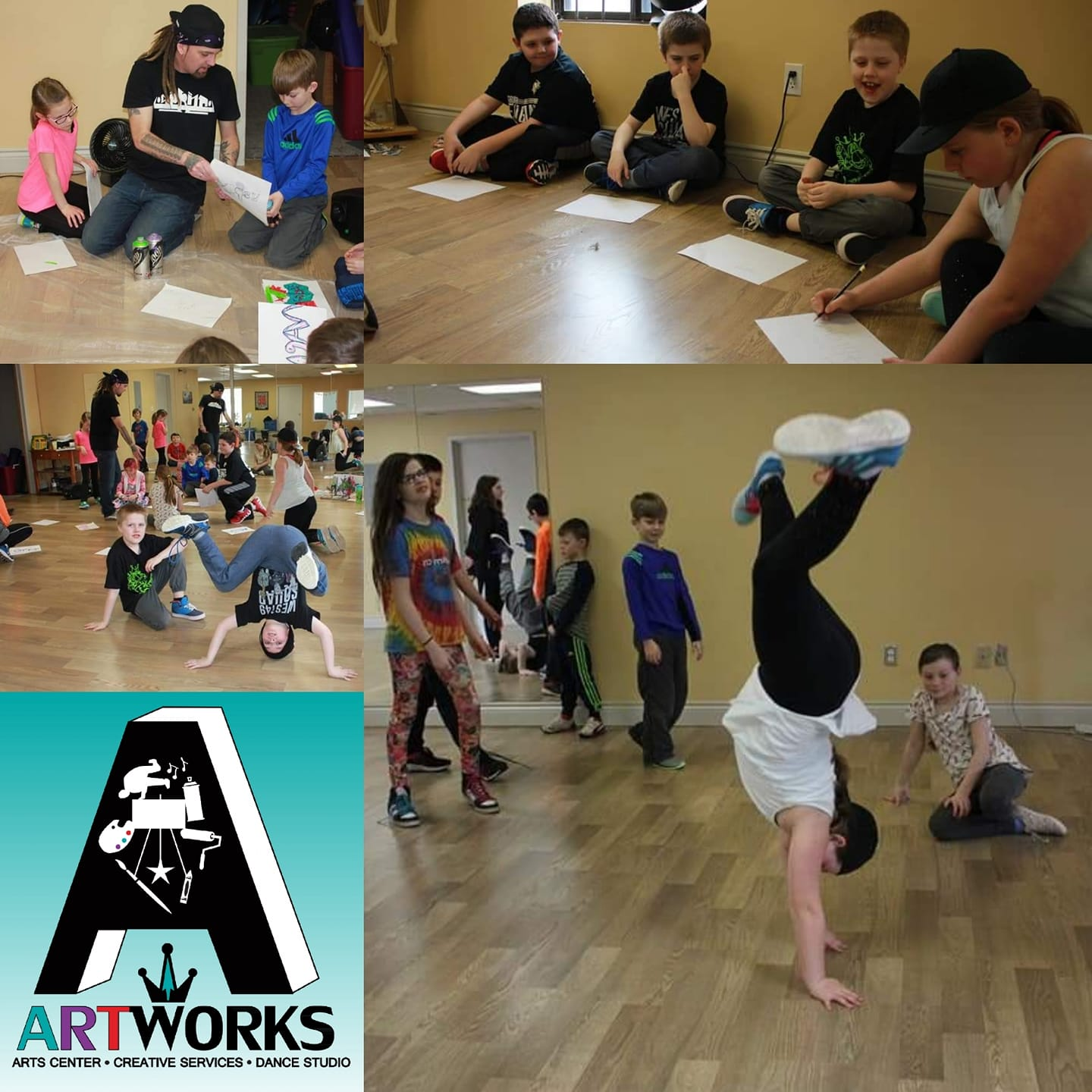 art works march break hip hop camp