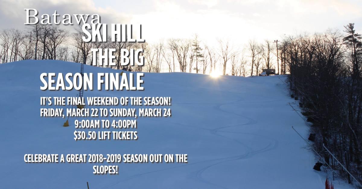 batawa ski hill big season finale