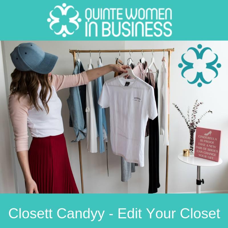 quinte women in business edit your closet