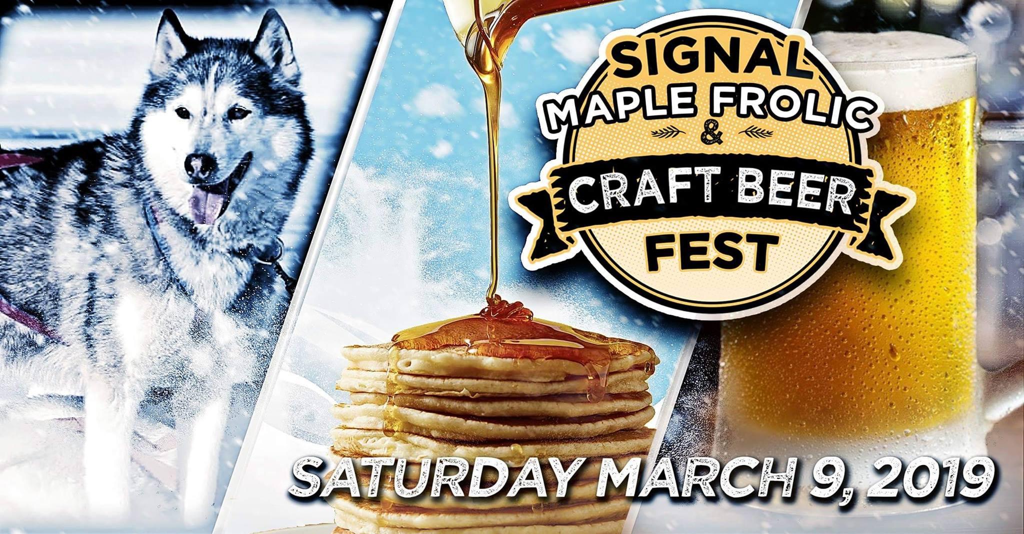 signal maple frolic craft beer fest