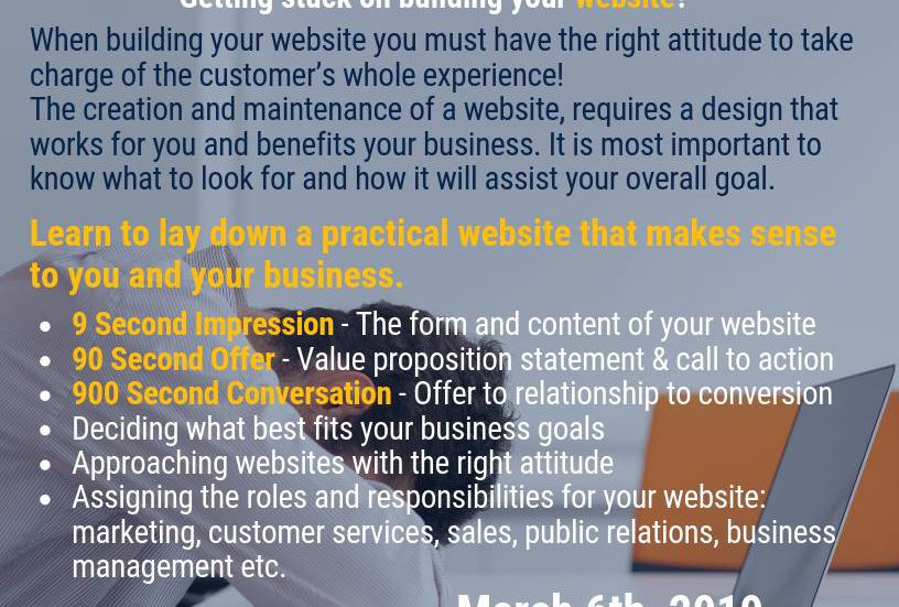 small business centre how to build a website
