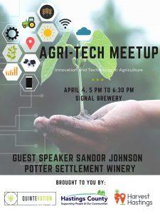 agri-tech meetup quintevation