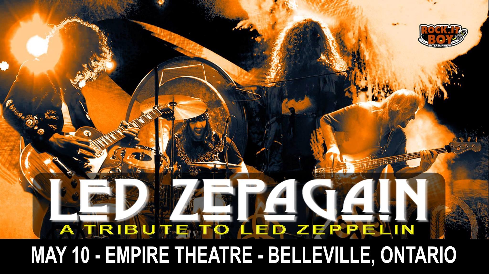 led zepagain tribute empire theatre
