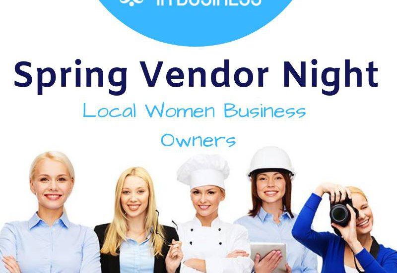 quinte women in business spring vendor night