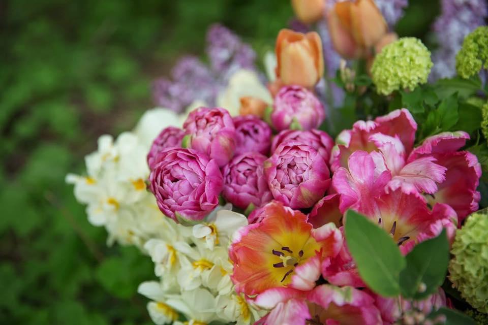 spring design workshop dahlia may flower farm