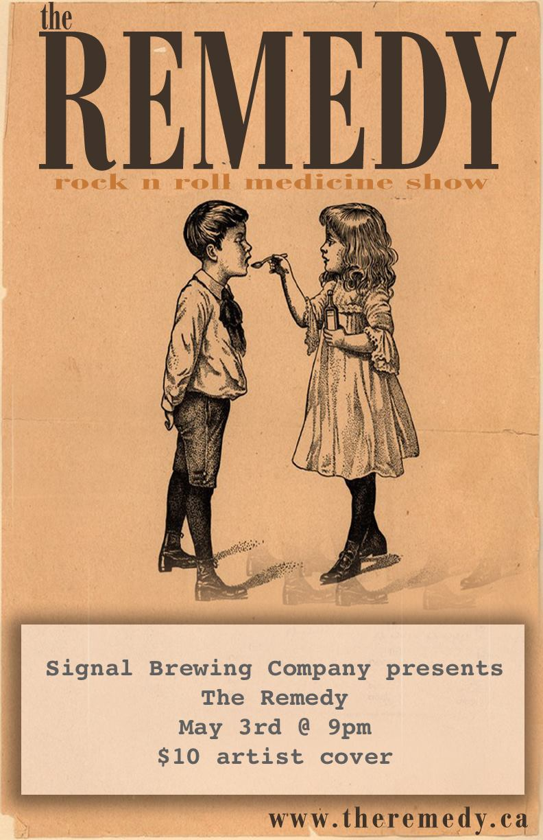 the remedy live at signal brewing co