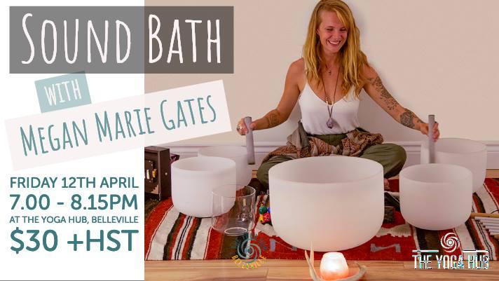 the yoga hub sound bath
