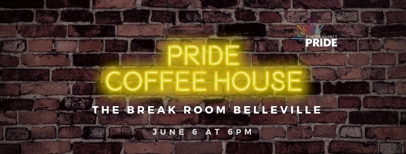Pride Coffee House poster