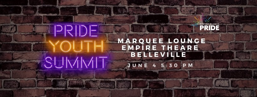Pride Youth Summit poster