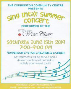 Sing into Summer poster