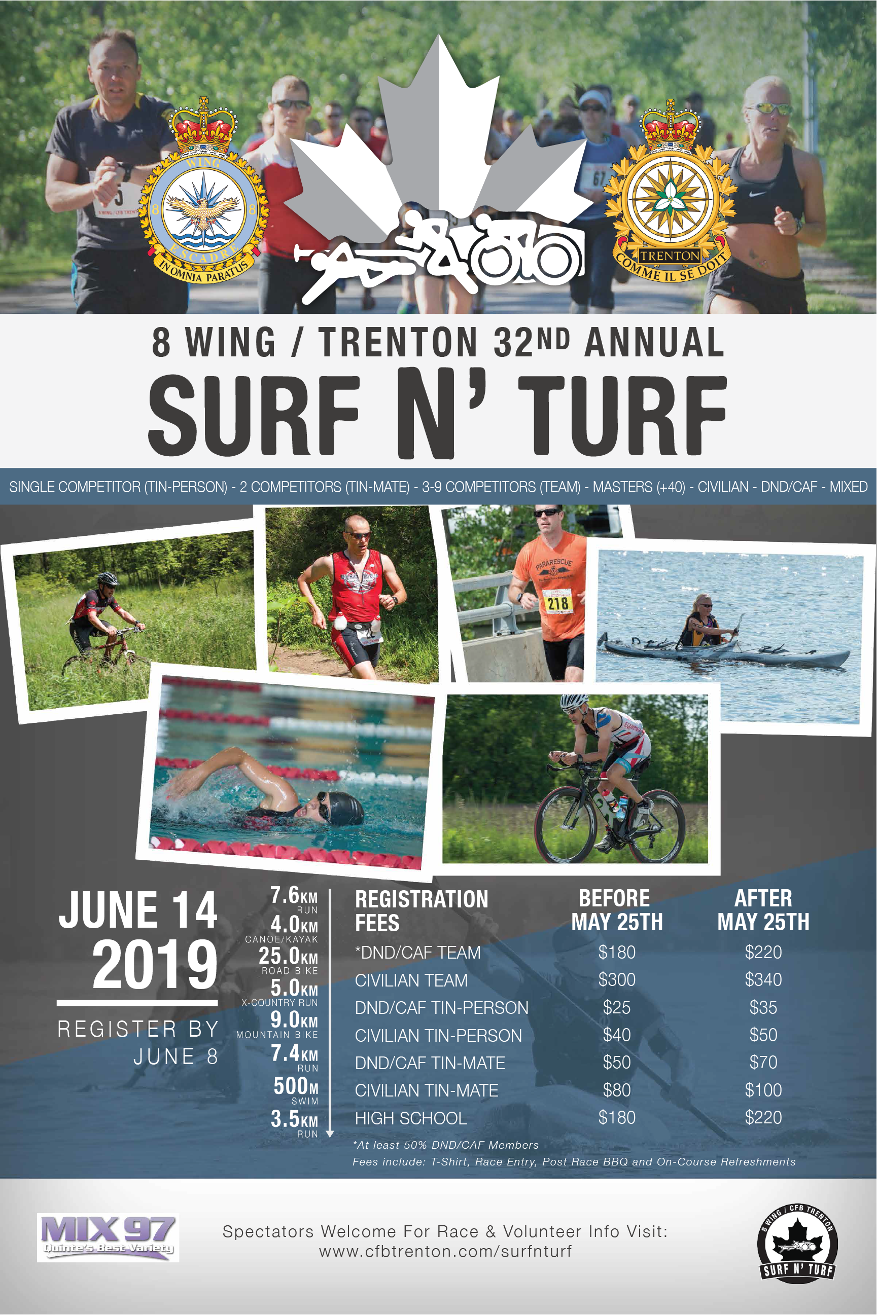 Surf and Turf Race