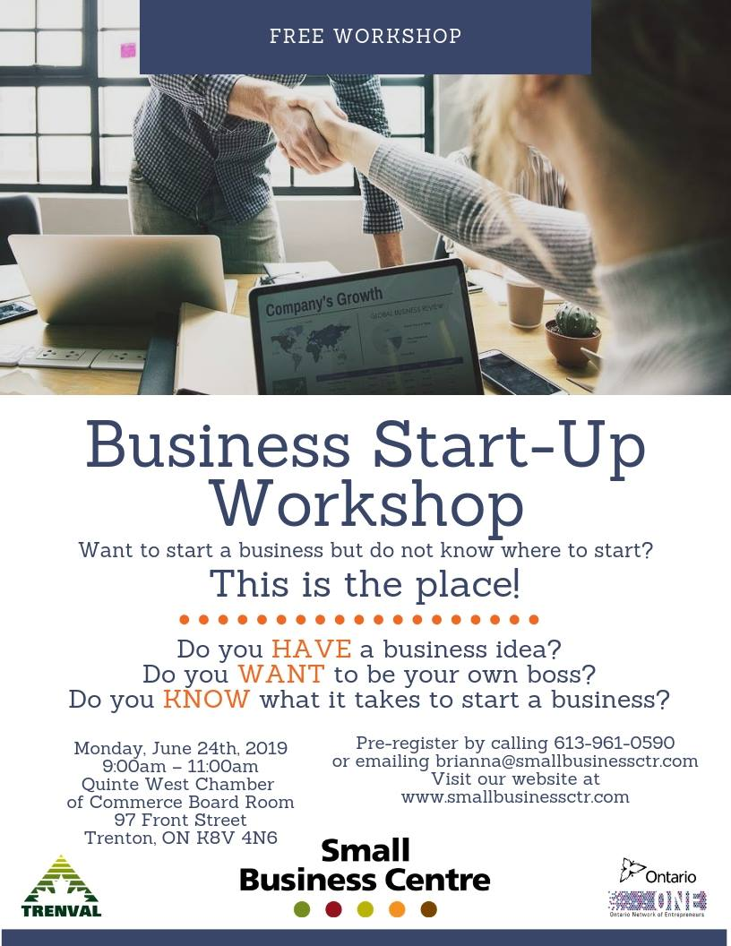 business start up workshop june