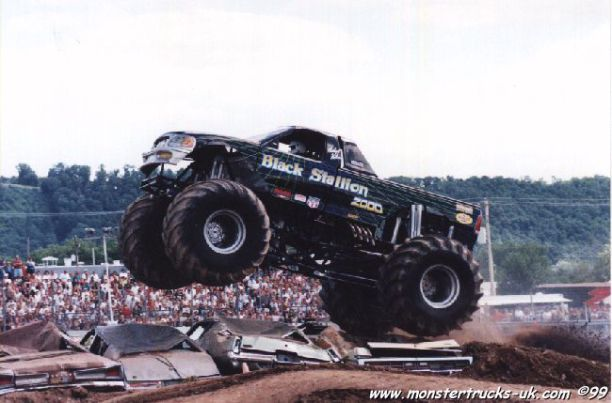 Image of Black Stallion - monster truck competitor