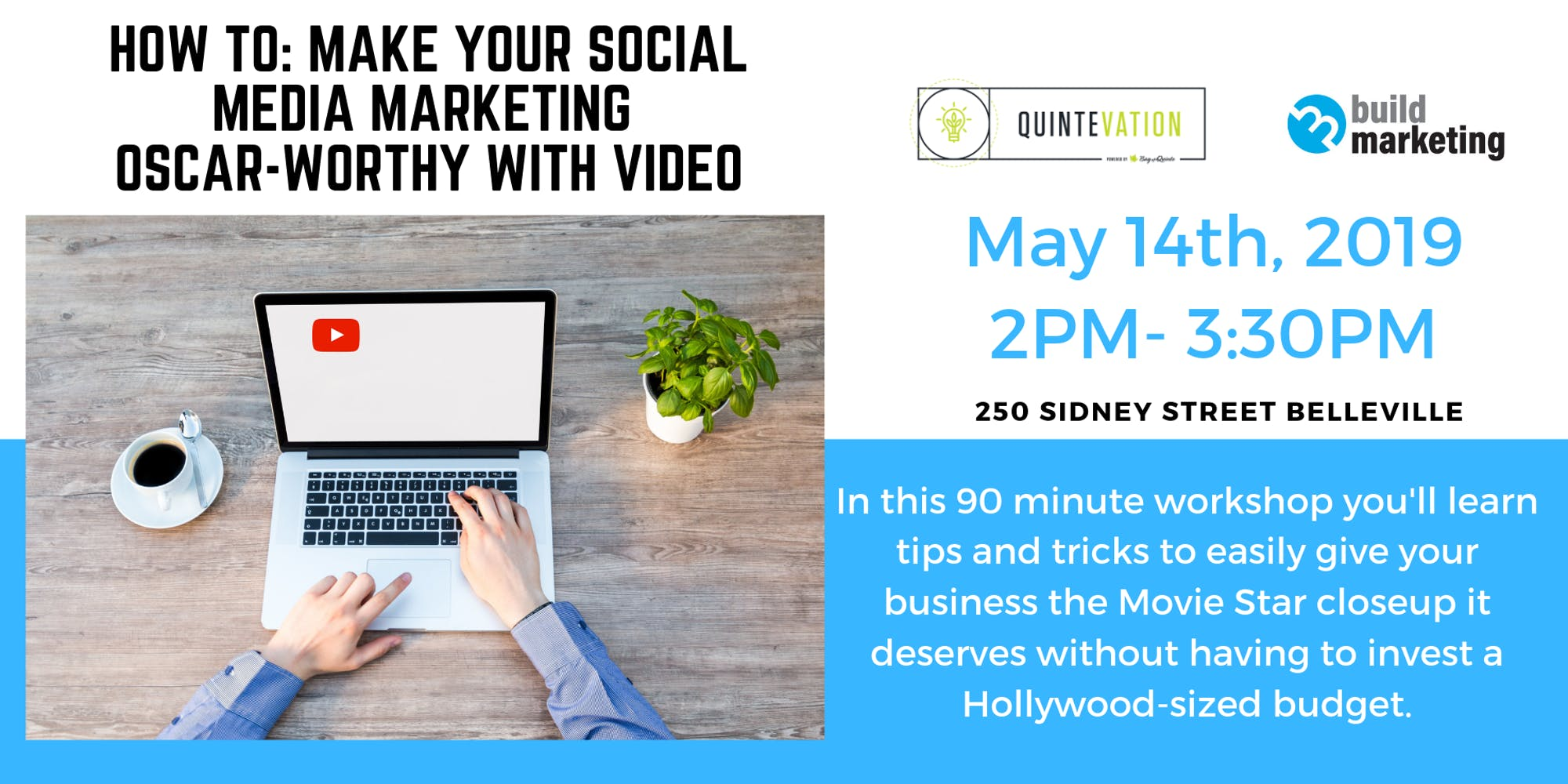 social media marketing video workshop
