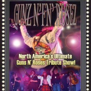 Guns N' FN Rosez flyer