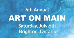 6th Annual Art on Main poster