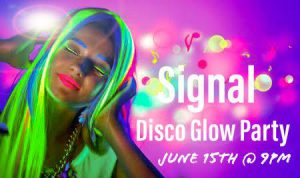 Signal Disco Glow Party flyer