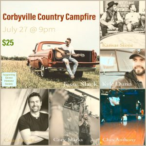 Corbyville Country Campfire flyer