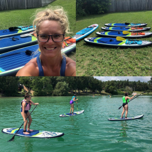 GoActive Ontario Stand Up Paddling class