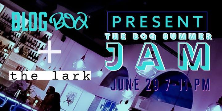 BLOG BOQ Summer Jam Poster