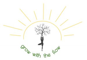 Yoga by the Bay-grow with the flow logo