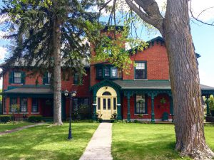 Bell Riggs house in the Old East Hill neighbourhood in Belleville.