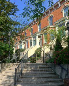 Bellevue Terrace in the Old East Hill neighbourhood in Belleville.