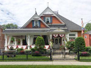Hatt Sisters house in the Old East Hill neighbourhood in Belleville.