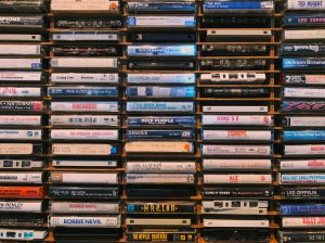 Cassette tapes from the 80s