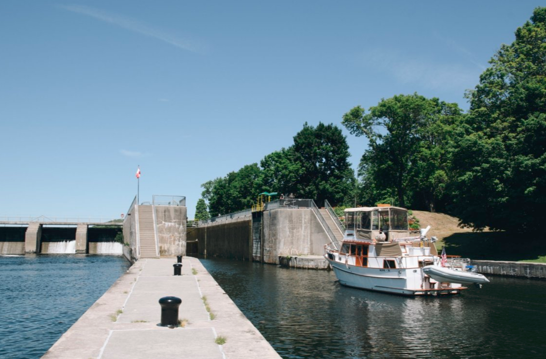 lock 4 trent severn waterway
