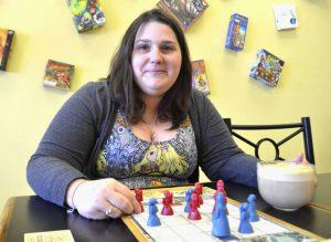 Brenda Ripley, Pieces Boardgame Cafe Owner